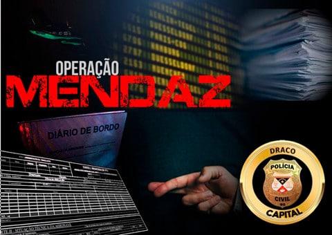 Operação Mendaz faz novas buscas na Empresa Rima Táxi Aéreo