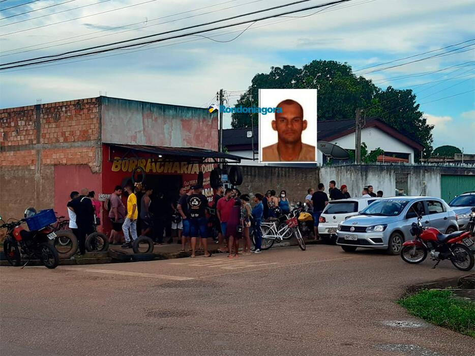 Proprietário de borracharia é executado na Zona Sul de Porto Velho