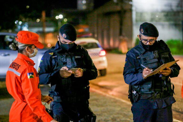 """Na 5ª noite da """"Operação Prevenção"""", responsáveis por descumprimento do Decreto n° 25.859 foram notificados"""