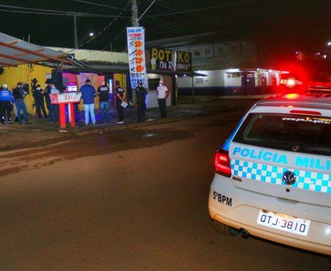 """""""Operação Urgência"""" dispersa aglomerações na 6ª noite de atuação; equipes vistoriam todas as regiões de Porto Velho"""