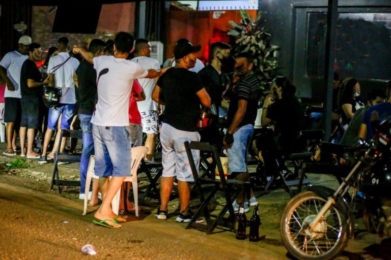 """Na 3ª noite da """"Operação Prevenção"""", equipes flagram desrespeito às medidas de segurança previstas no Decreto 25.981"""