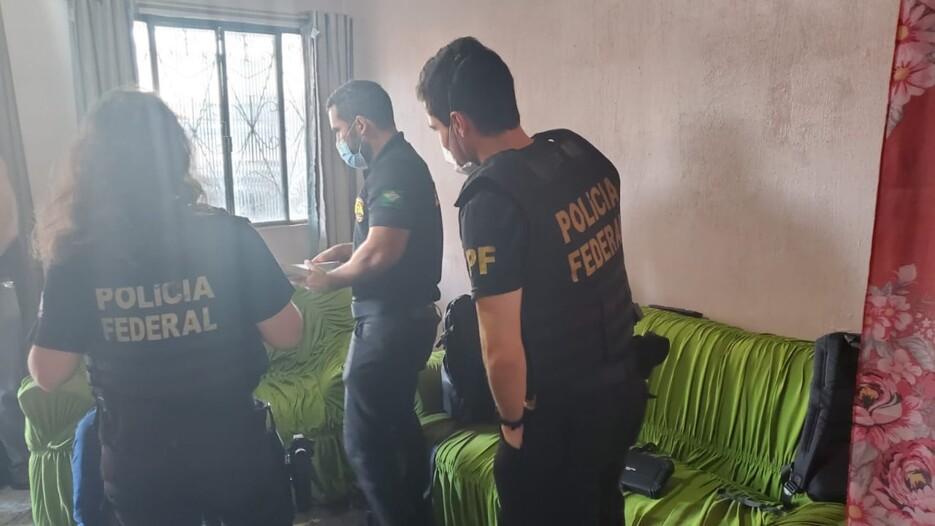 Operação da PF prende acusado de exploração sexual de crianças e adolescentes na internet