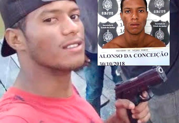 Criminoso é morto em confronto com a PM; bando usava até metralhadora