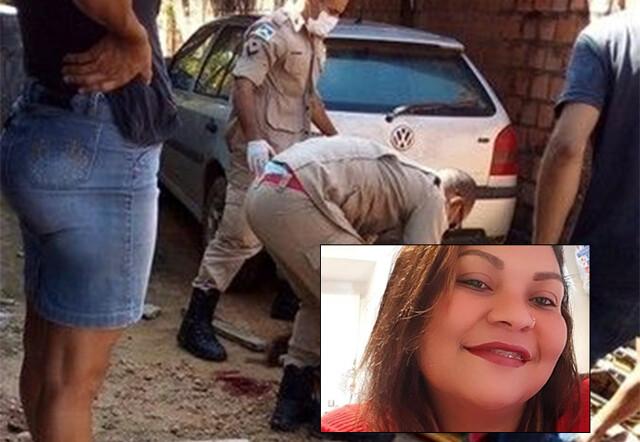 Mulher de 33 anos é assassinada a pauladas pelo marido na frente do filho