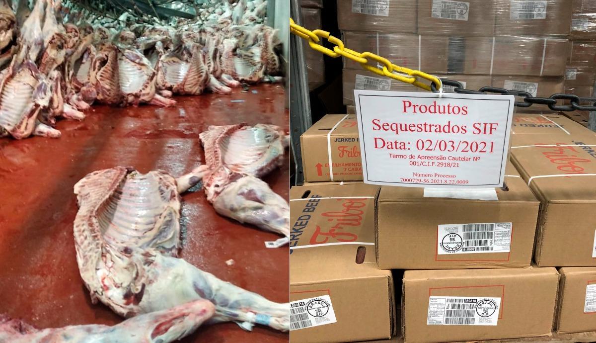 """""""Operação Hiena"""": Serviço de Inspeção Federal determina o descarte da carne contaminada com amônia no frigorífico JBS de Pimenta Bueno"""