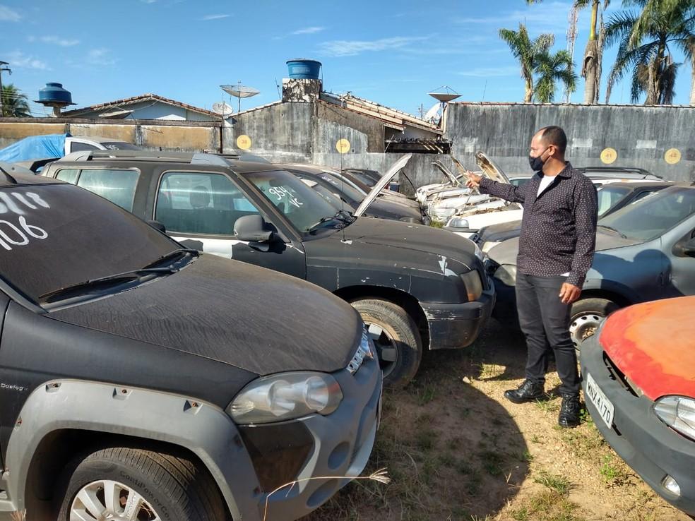 Leilão do Detran em Ji-Paraná, RO, arrecada mais de R$ 3 milhões
