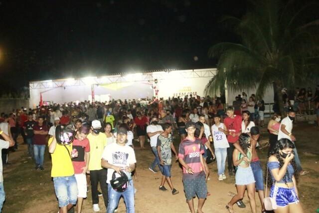 PM acaba com evento com mais de 500 pessoas na Zona Leste de Porto Velho