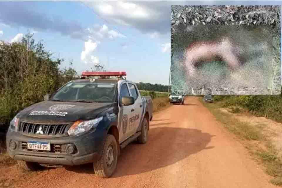 Corpo é encontrado em estado de decomposição na área rural de Cerejeiras