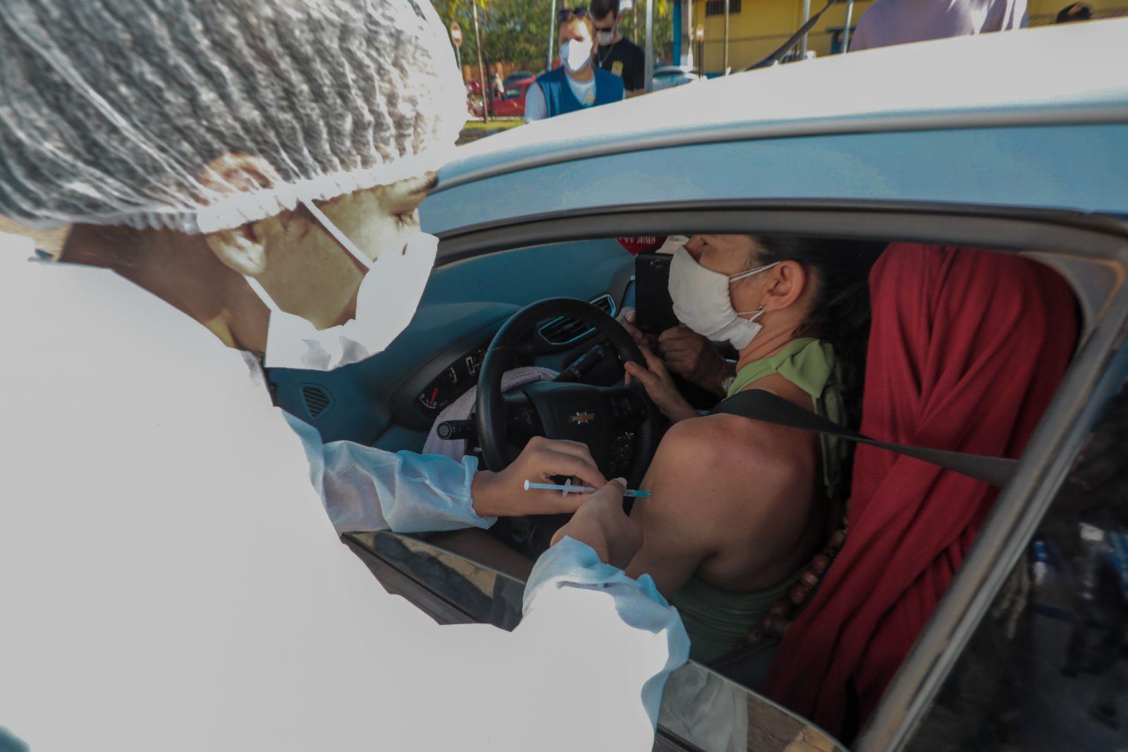 Pessoas com 40 anos passam a ser imunizadas a partir de segunda-feira (28) em Porto Velho