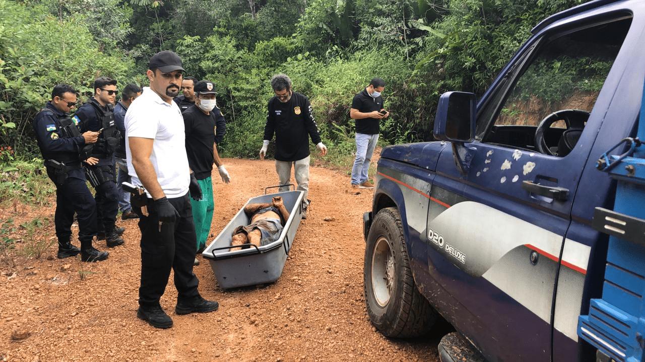Sitiante é executado com vários tiros de espingarda por invasores de terra na frente da esposa em Porto Velho