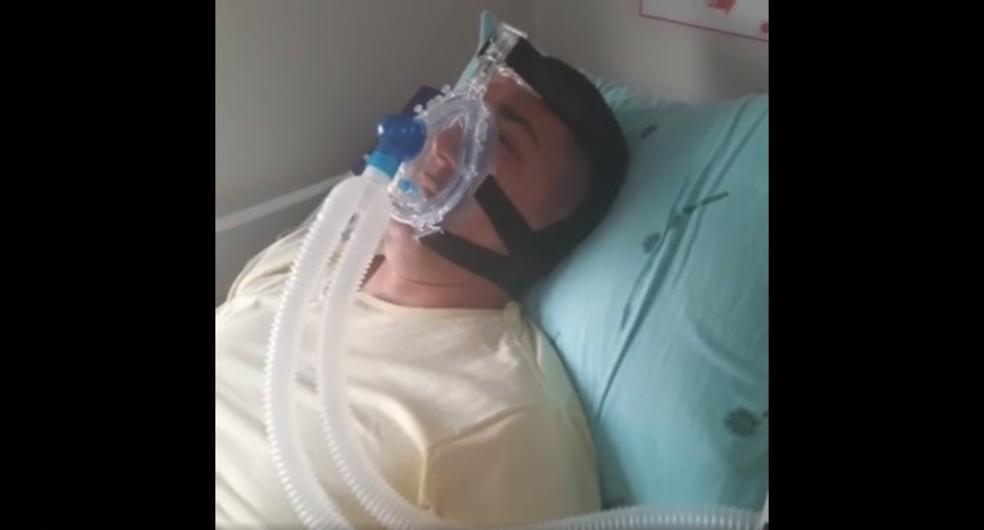 Após pulmões serem afetados pela Covid, deputado Eyder volta à ALE-RO e defende retorno de aula presencial