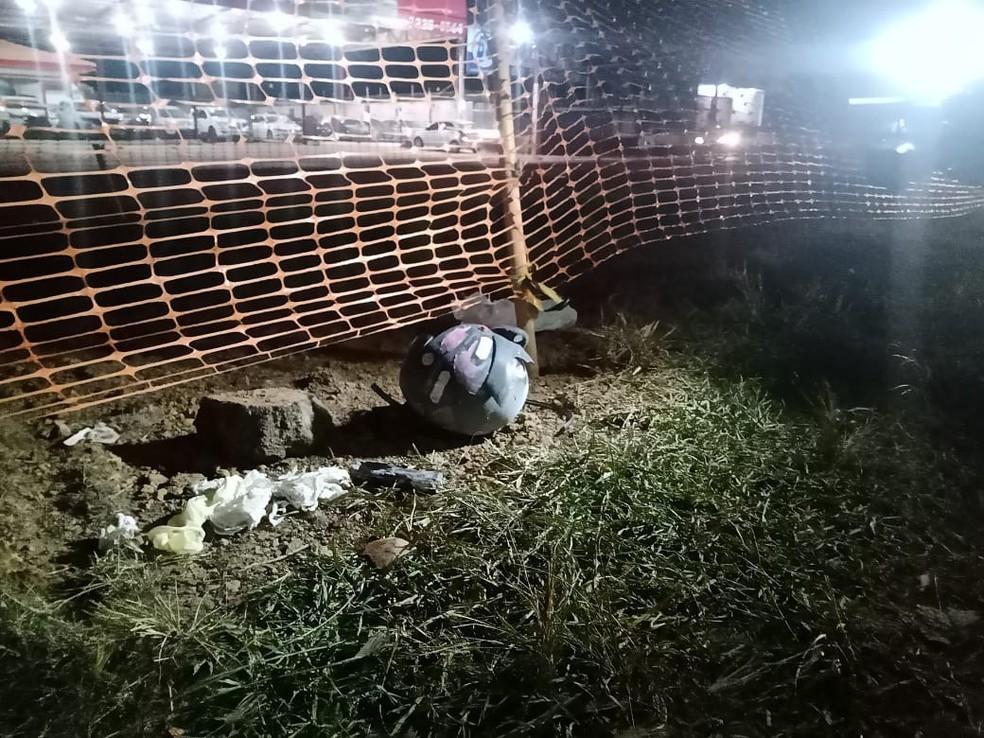 Mulher morre após ser atropelada por carreta na BR-364 em Porto Velho