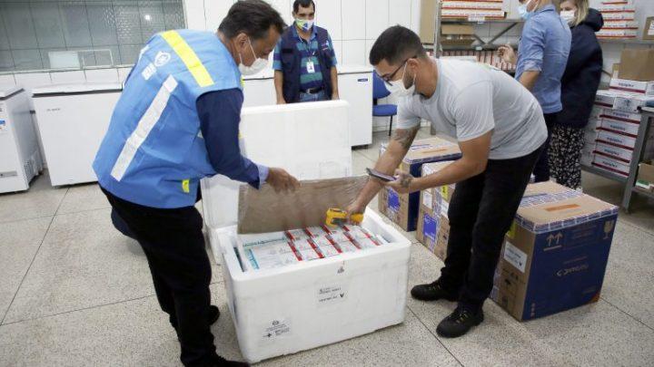 Rondônia recebe do Ministério da Saúde mais uma remessa de imunizantes