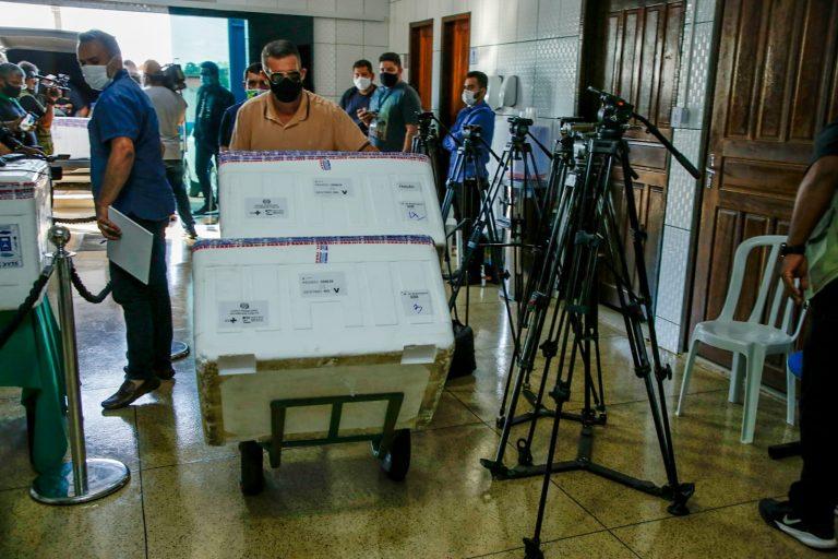 Com nova remessa de vacinas contra covid-19, Rondônia ultrapassa a marca de 1 milhão de doses recebidas