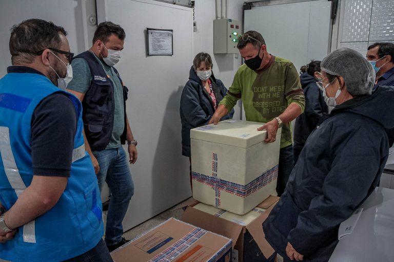 Rondônia recebe mais um lote com 19.890 doses de vacinas do Ministério da Saúde contra a covid-19