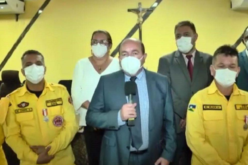 Câmara de Porto Velho torna Brigada Independente de Bombeiros Civis do Estado de Rondônia entidade de utilidade pública