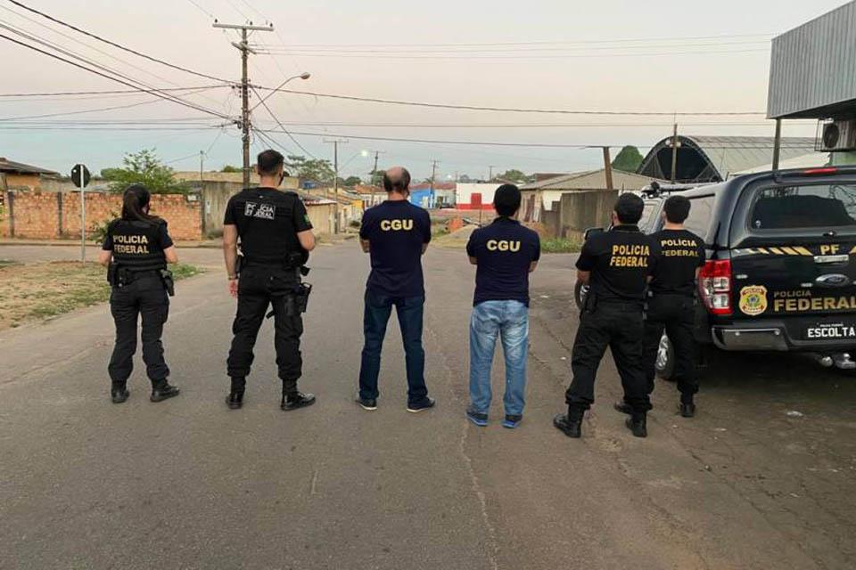 Polícia Federal deflagra operação contra fraudes na compra de merenda escolar em Rondônia