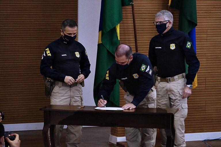 Governo de Rondônia e PRF reforçam compromisso com integração para fortalecer segurança pública no Estado