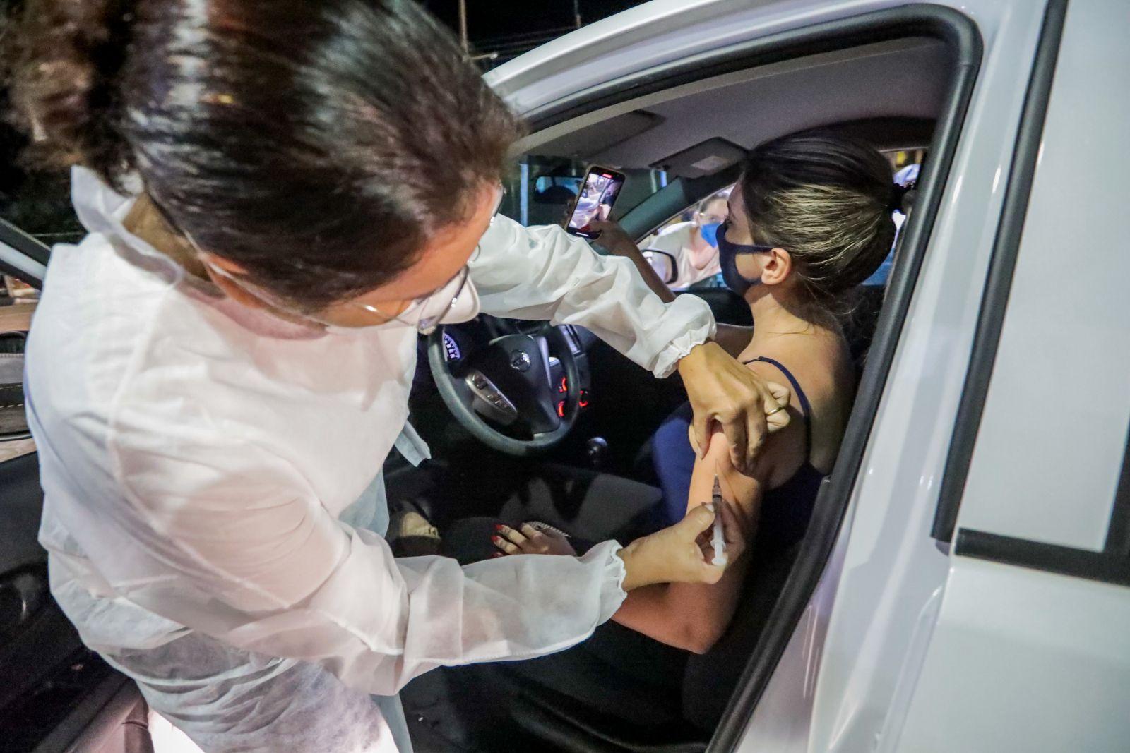 Prefeitura realiza mais uma edição noturna da vacinação contra a Covid-19 em Porto Velho