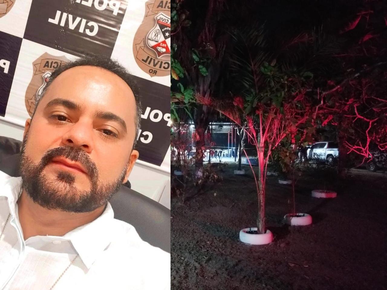 Fotos +18: Delegado é executado na zona leste de Porto Velho por motivo fútil