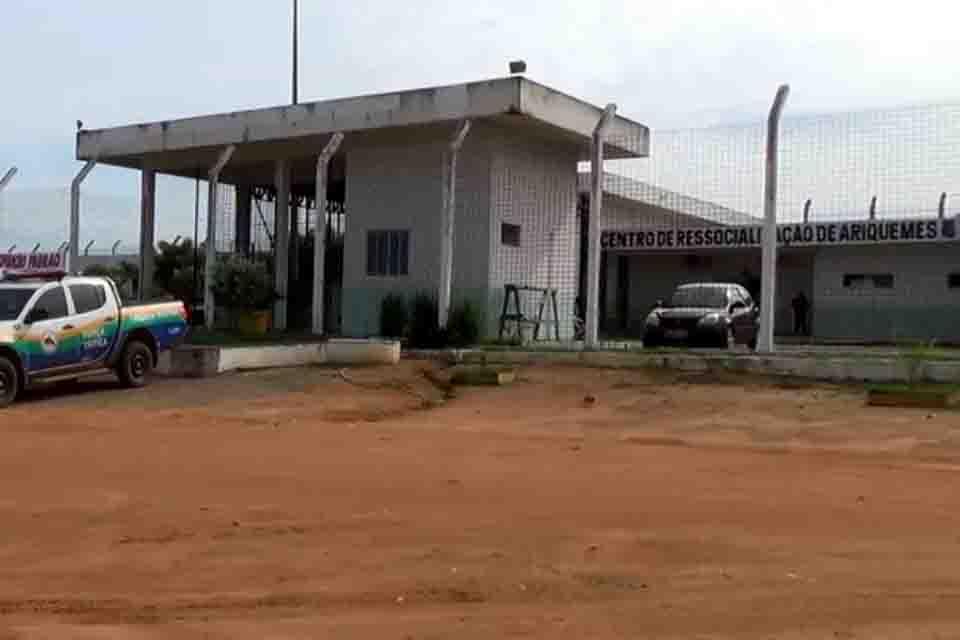 Polícia Penal evita fuga em massa de integrantes de facção em Ariquemes