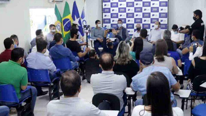 Em Cacoal, Governo de Rondônia alinha com classe empresarial avanços para fomentar desenvolvimento econômico