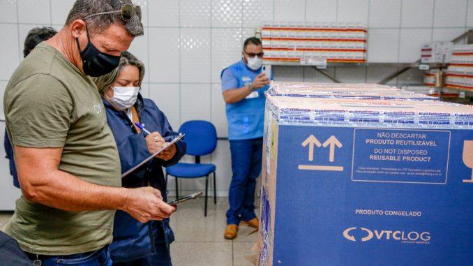 Rondônia recebeu 20.610 doses de vacinas contra a covid-19 do Ministério da Saúde
