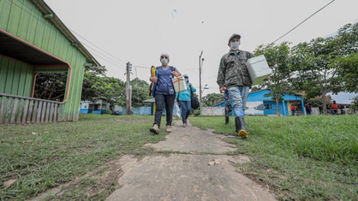 Mais de duas mil doses foram aplicadas nos distritos de Porto Velho no último final de semana