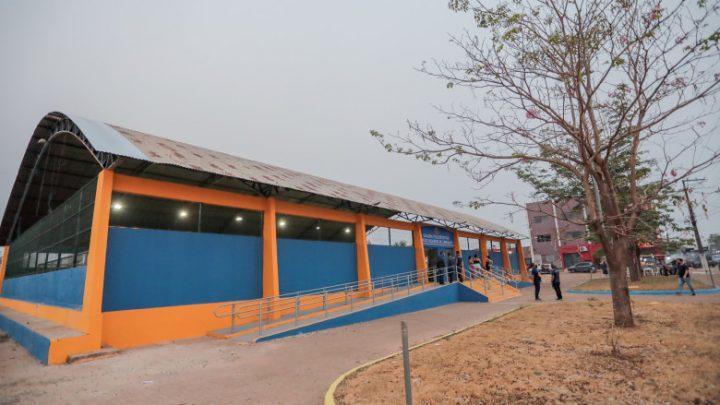 Ginásio Poliesportivo é entregue no bairro Esperança da Comunidade após revitalização