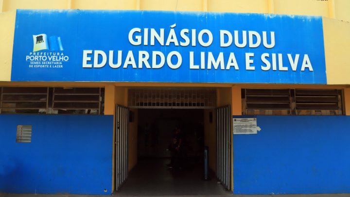 """Revitalização do """"Ginásio do Dudu"""" estimula atletas da ginástica rítmica em Porto Velho"""