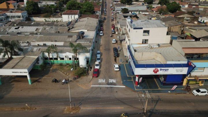 População deve ficar atenta à mudança no tráfego da rua Netuno