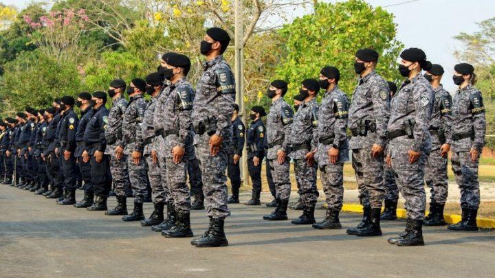 Formatura, entrega de medalhas e homenagens no 4º Batalhão da Polícia Militar marcam Dia do Soldado, em Cacoal