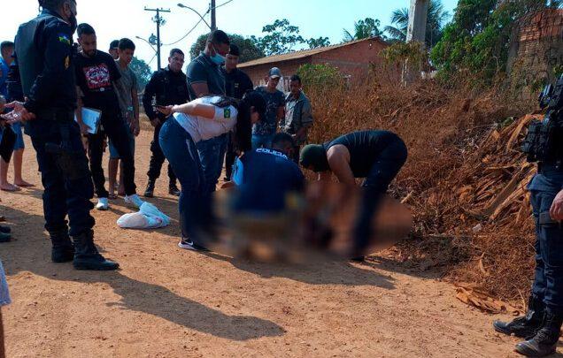 Homem é morto a facadas em via pública na zona rural da capital