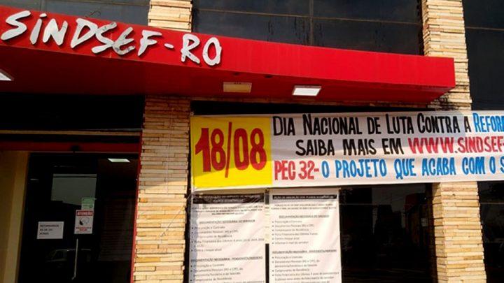 Dia Nacional de Luta contra a Reforma da Administrativa terá atos em vários municípios de Rondônia