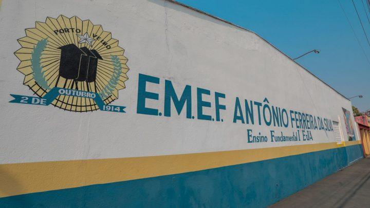 Escola Municipal Antônio Ferreira da Silva é referência no acolhimento de estudantes autistas