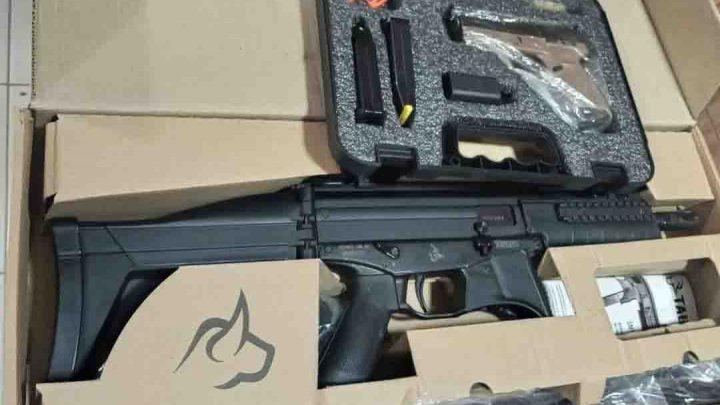 PF cumpre mandados de prisão em RO e apreende armas de groso calibre