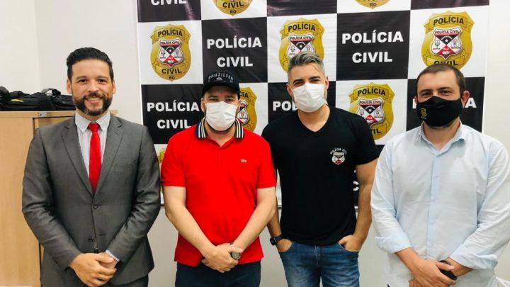 Presidente Alex Redano destina emenda para reforçar ações da Polícia Civil no Vale do Jamari