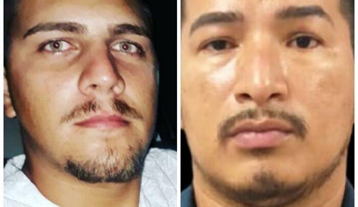 Polícia divulga imagens de dois envolvidos na morte de delegado, que estão foragidos