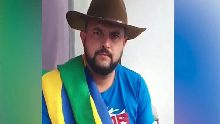 Em novo vídeo, Zé Trovão desafia Alexandre de Moraes: 'Vem me prender'
