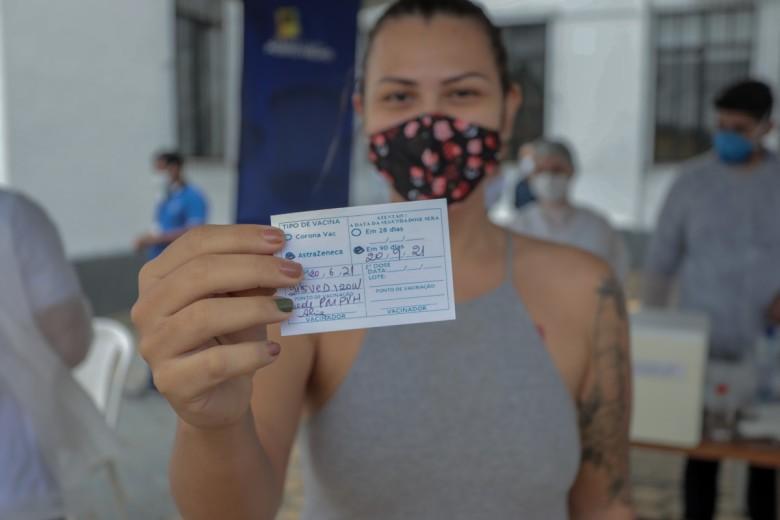 Porto Velho atinge a marca de meio milhão de vacinas aplicadas contra a covid-19