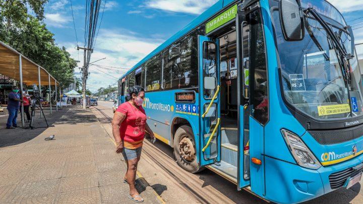 Com novos ônibus, transporte coletivo de Porto Velho tem aumento de 2,5 mil viagens por mês