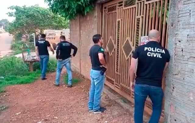 Operação da Polícia Civil faz buscas contra quadrilha especializada em falsificação de cartões
